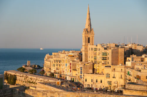 Digital Nomads from around the world are flocking to Malta to soak in views like this one of the capital city, Valletta.